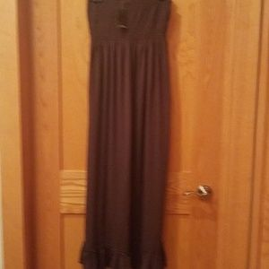 Dress Strapless Smocked Top NWT